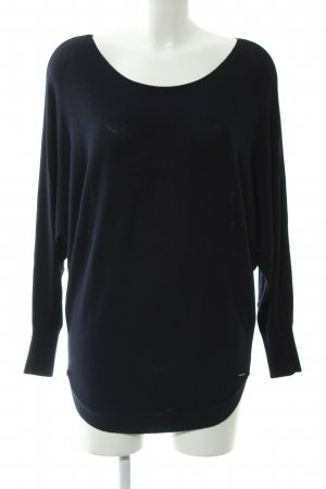 More & More Oversized Pullover dunkelblau Casual-Look