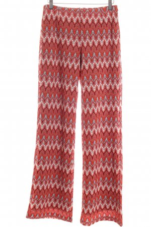 More & More Pallazzohose Lochstrickmuster Ethno-Look