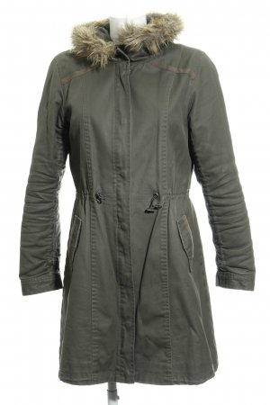 More & More Parka gris vert style simple