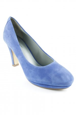More & More Peeptoe Pumps blau Casual-Look