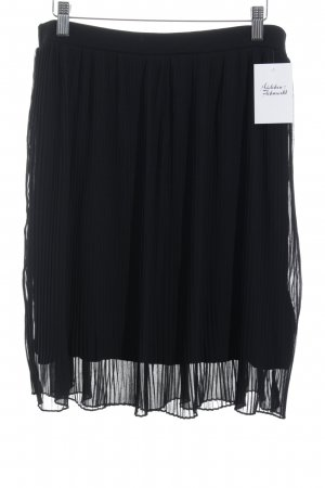 More & More Pleated Skirt black classic style
