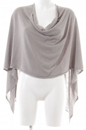 More & More Poncho silver-colored casual look