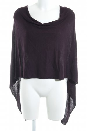 More & More Poncho braambesrood casual uitstraling