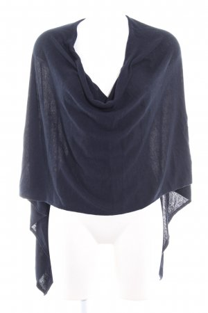 More & More Poncho azul oscuro look casual
