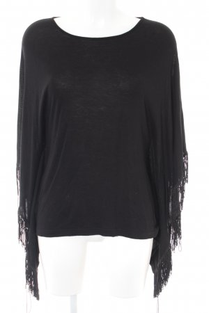 More & More Poncho schwarz Casual-Look
