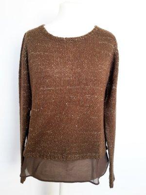 More & More Pullover mit Paillettenbesatz