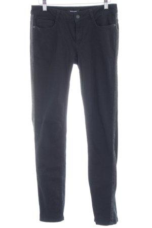 More & More Drainpipe Trousers black casual look