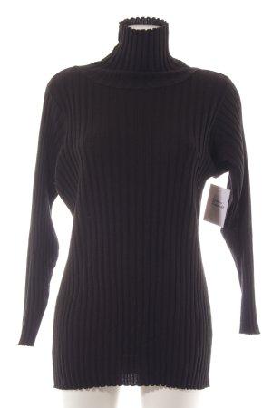 More & More Rollkragenpullover schwarz Elegant