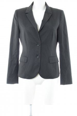 More & More Pull ras du cou gris anthracite style d'affaires