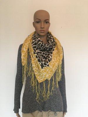 More & More Sjaal met franjes veelkleurig