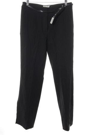 More & More Pantalón de campana negro-color plata estilo «business»