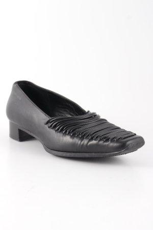 More & More Schlüpfschuhe schwarz schlichter Stil