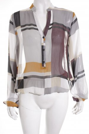 More & More Schlupf-Bluse Karomuster Casual-Look