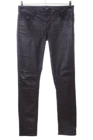 More & More Slim Jeans schwarz extravaganter Stil