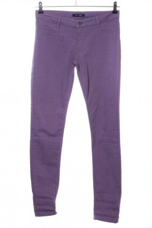 More & More Slim Jeans lila Casual-Look