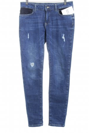 More & More Slim Jeans meliert Jeans-Optik