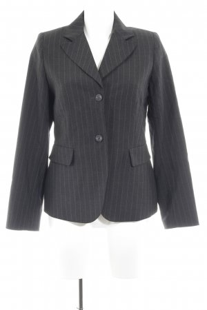 More & More Smoking-Blazer dunkelgrau Nadelstreifen Business-Look