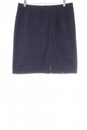 More & More Lace Skirt dark blue business style