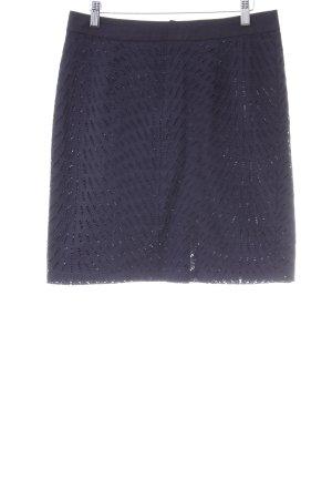 More & More Kanten rok donkerblauw zakelijke stijl