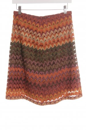 More & More Lace Skirt orange-brown red color gradient beach look