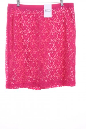 More & More Lace Skirt pink-pink romantic style