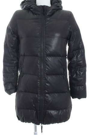 More & More Quilted Coat black polyester
