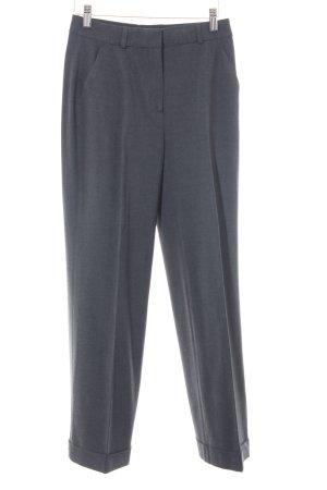 More & More Pantalon en jersey gris foncé style d'affaires