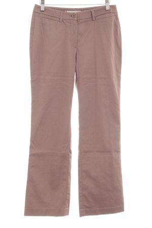 More & More Pantalon en jersey marron clair style d'affaires