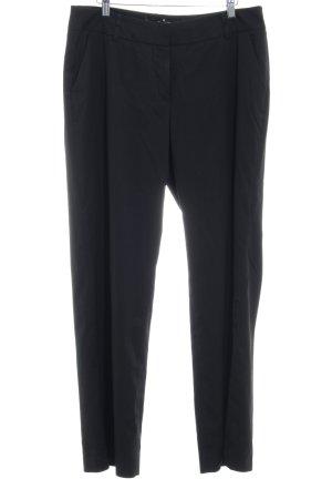 More & More Pantalon en jersey noir style d'affaires