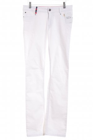 "More & More Straight Leg Jeans ""Holly"" white"