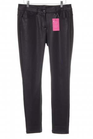 More & More Stretchhose schwarz Casual-Look