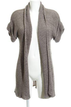 More & More Cardigan tricotés gris brun style décontracté