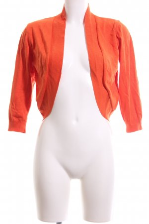 More & More Knitted Bolero light orange casual look