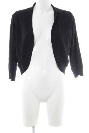 More & More Veste en tricot noir style mode des rues