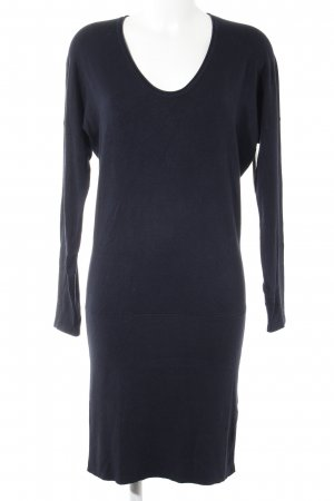 More & More Robe en maille tricotées bleu foncé style décontracté