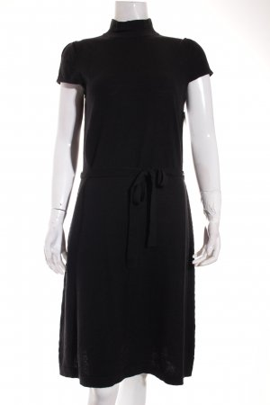 More & More Strickkleid schwarz Casual-Look
