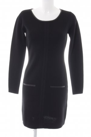 More & More Strickkleid schwarz Elegant
