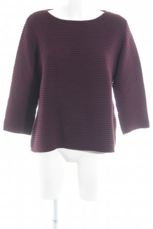 More & More Strickpullover bordeauxrot Casual-Look