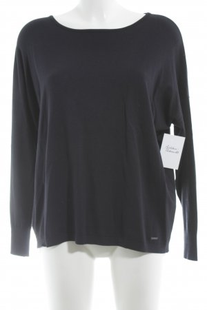 More & More Strickpullover dunkelblau Casual-Look