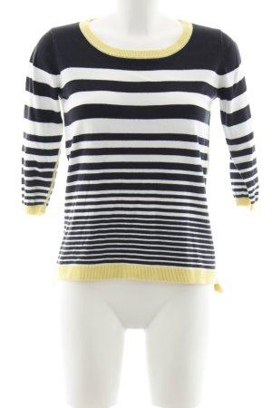 More & More Pull tricoté motif rayé style décontracté