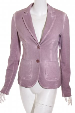 More & More Sweatblazer blasslila Washed-Optik