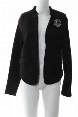 More & More Sweat Blazer black-dark red elegant