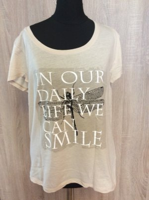 More + more T Shirt Beige Gr 40