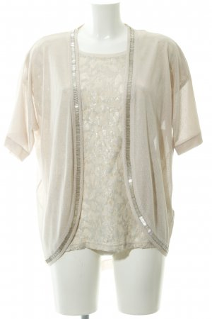 More & More T-Shirt creme florales Muster Casual-Look