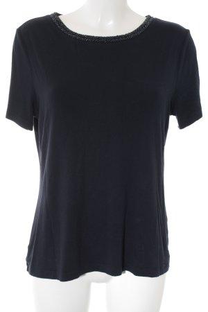 More & More T-Shirt dunkelblau klassischer Stil