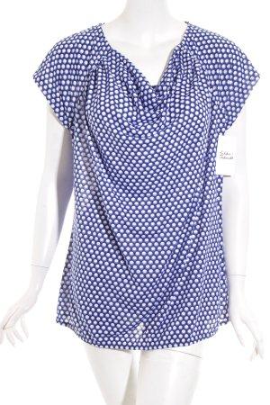 More & More T-Shirt Punktemuster Casual-Look