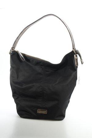 More & More Tasche schwarz-silberfarben Eleganz-Look