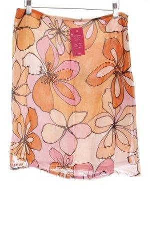 More & More Falda circular estampado floral look casual