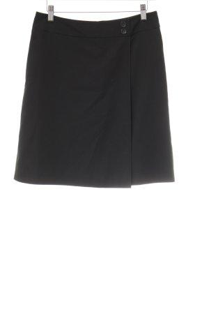 More & More Falda circular negro elegante