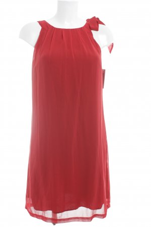 More & More Trägerkleid rot Elegant
